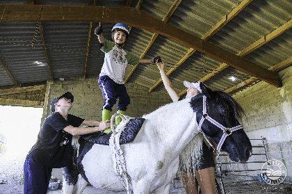 Les chevaux du rajal, Virginie Govignon - OT Larzac Vallées