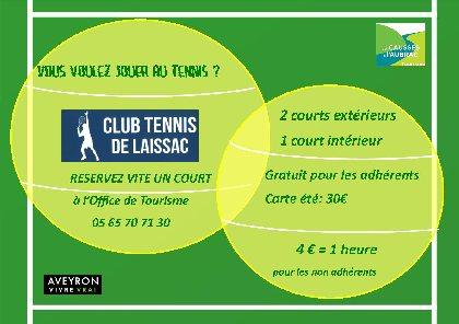 Location de courts de tennis,