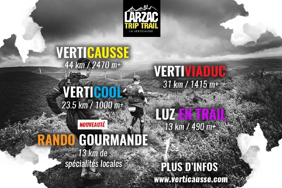 La Verticausse - Larzac Trip Trail - Trail et rando gourmande (nouveauté 2021)