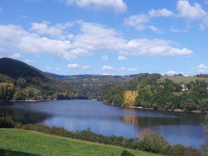 VTT : Circuit du lac de Lous, Office de Tourisme des Causses à l'Aubrac