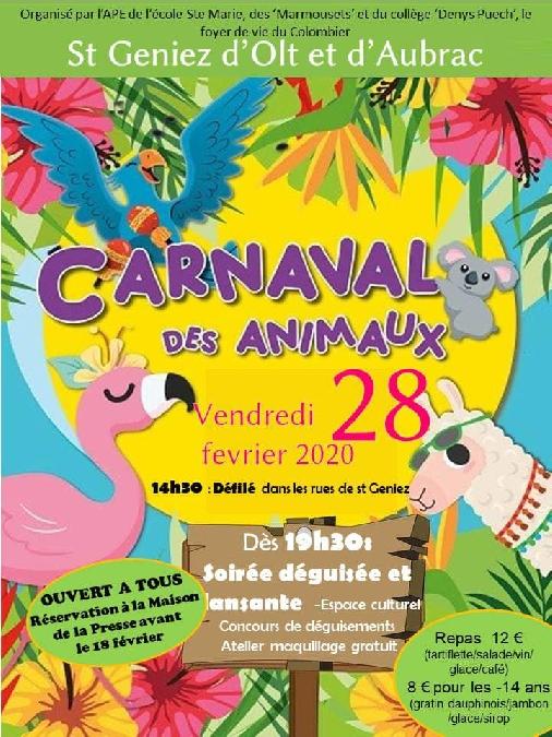 Carnaval de St Geniez d'Olt