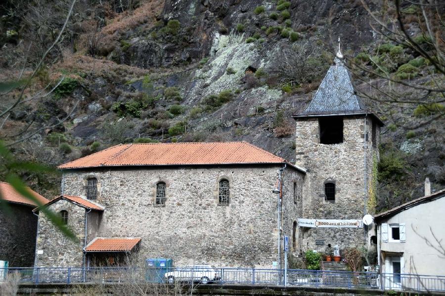 Chapelle des gabariers et village