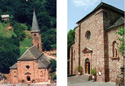 Église Saint Barthélémy, Mairie Villecomtal