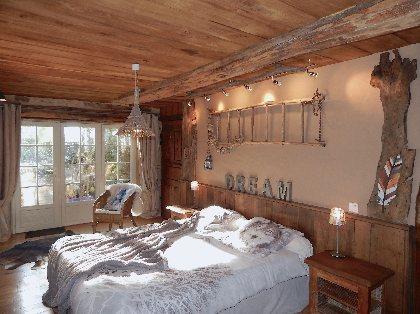 Chambre cosy - Lit XL 180x200,