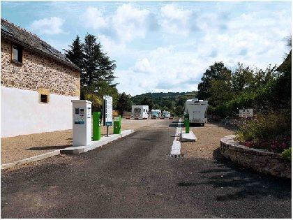 Aire Camping-Car Park d'Espalion