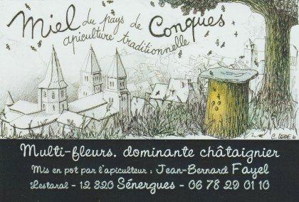 Le Miel du Pays de Conques, OFFICE DE TOURISME de CONQUES-MARCILLAC