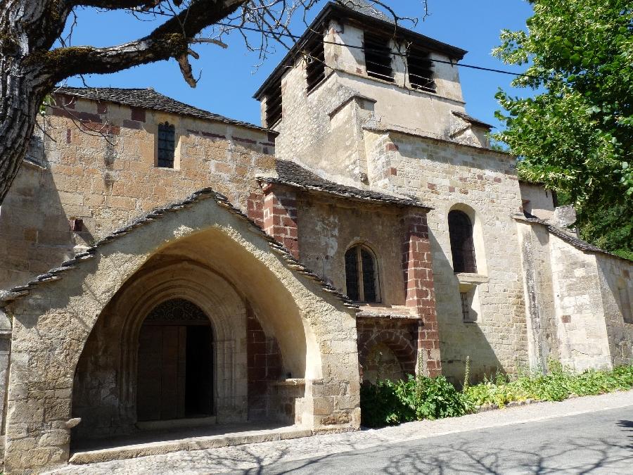 Visite de l'église de St-Austremoine
