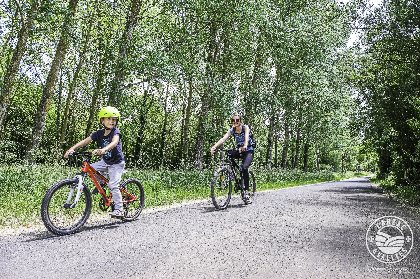 Circuits vélos en famille, Falaise d'escalade de Malaspes