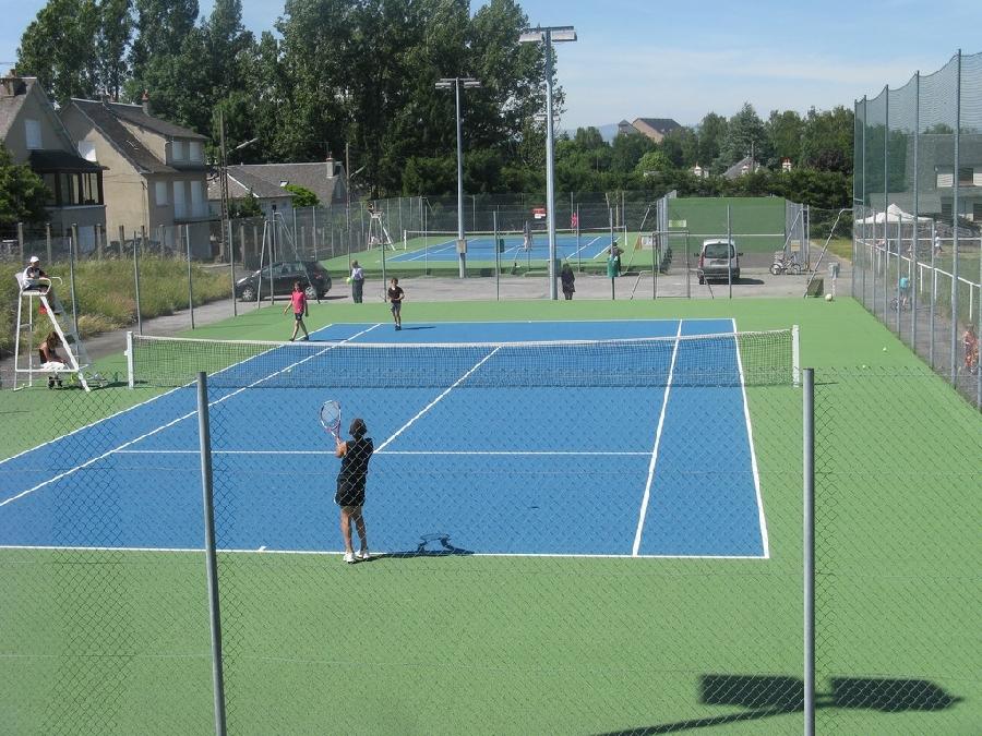 Courts de tennis de Ste Geneviève