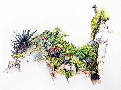Lucie Valloir - Paysagiste DPLG et Artiste Peintre