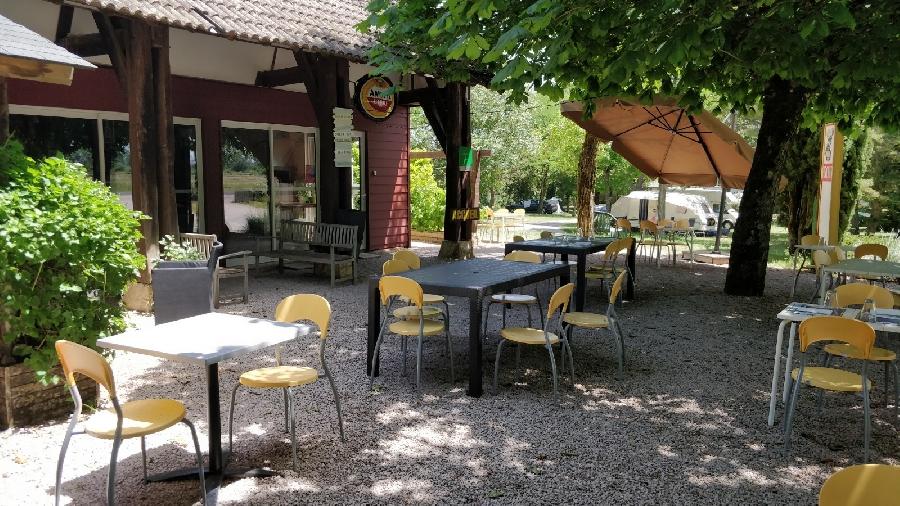 Restaurant du camping Au Tour de l'Aveyron