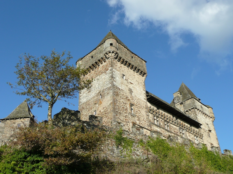 Façade Sud Château de Messilhac