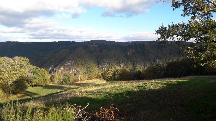 Site d'escalade de Bussières (Brommat)