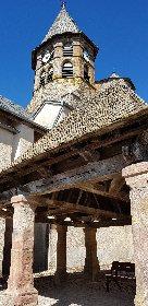 Basilique Notre Dame de Ceignac et sa halle, OT Pays Ségali ISSALIS Edith