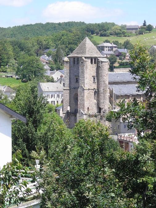 Eglise de Cassagnes Bégonhès et son clocher