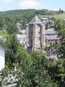Eglise de Cassagnes Bégonhès et son clocher, OFFICE DE TOURISME PAYS SEGALI