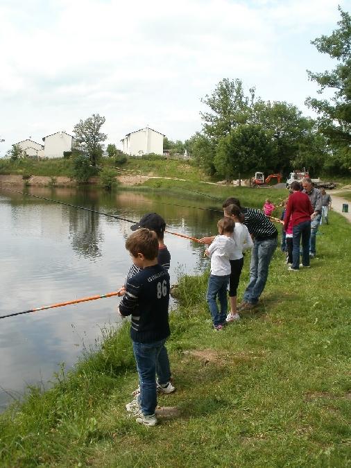 Concours de pêche pour les jeunes