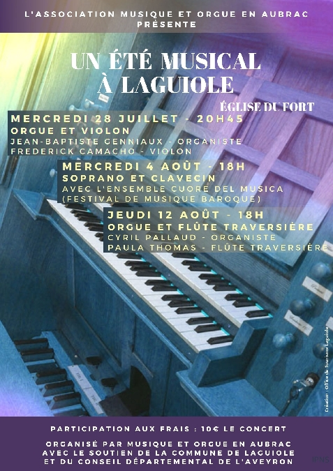 Concert Soprano et Clavecin avec l'Ensemble Cuore del Musica