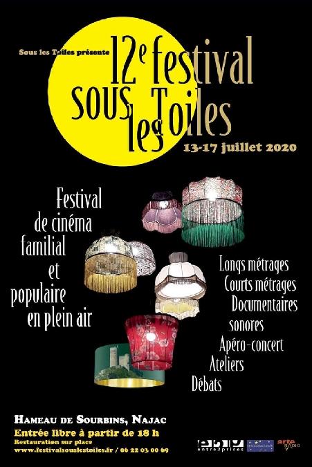 12ème Festival de cinéma de plein air - Sous les Toiles