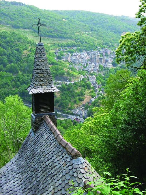 Randonnée - La chapelle Sainte-Foy de Conques