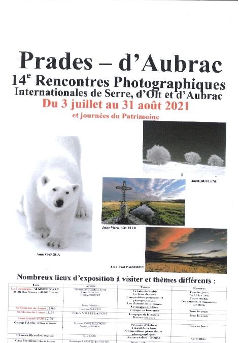 Rencontres photographiques à Prades d'Aubrac
