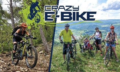 Crazy e-Bike - Location de VTT / VTC électriques