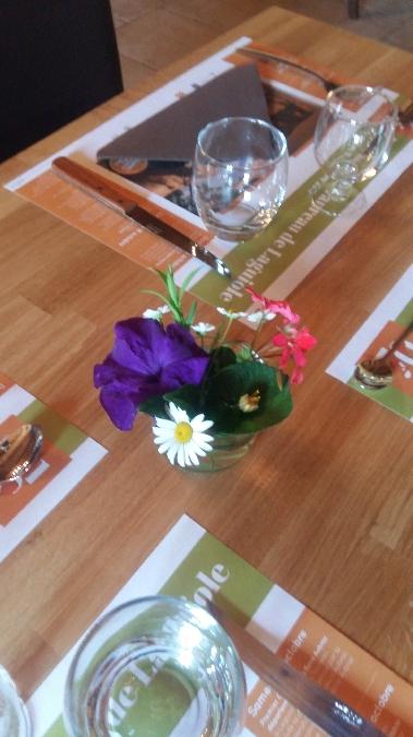 Repas à la ferme de la Violette