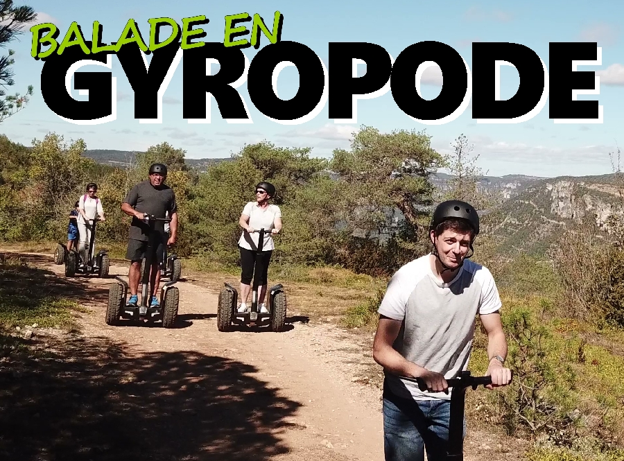Gyropodes - La rando des fainéants