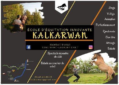 Centre Equestre et de spectacle équestre de club Kalkarwan, Office de Tourisme des Causses à l'Aubrac
