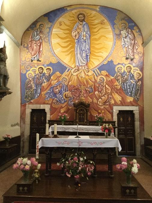Visite de l'Eglise St-Pierre de Cannac - Fresques de Nicolaï Greschny