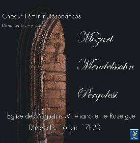 Concert - Nocturnes de Mozart, Choeur Féminin