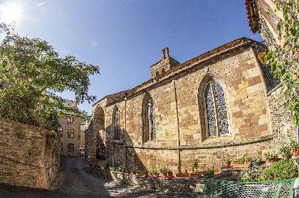Collégiale de Saint-Sernin, ©steloweb pour office de tourisme Rougier d'Aveyron Sud