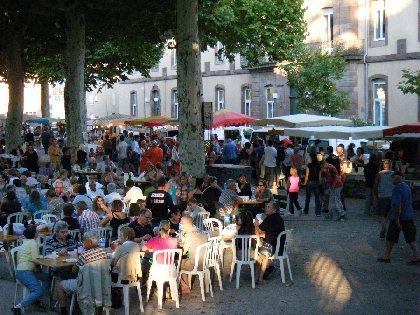 Marchés nocturnes avec  Fermiers De L'Aveyron