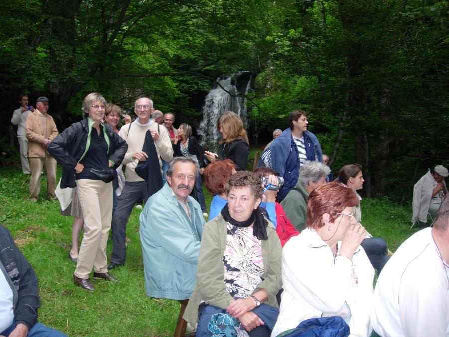Festival insolite à la Cascade du Capat