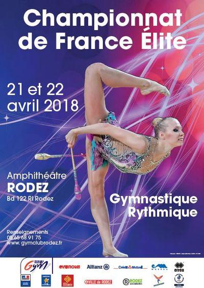 CHAMPIONNAT DE FRANCE ELITE EN GYMNASTIQUE RYTHMIQUE
