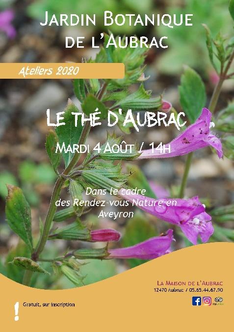 Atelier découverte - Le thé d'Aubrac - à Aubrac