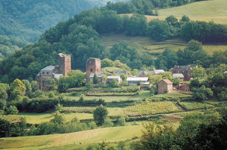 Visite du village de Mouret