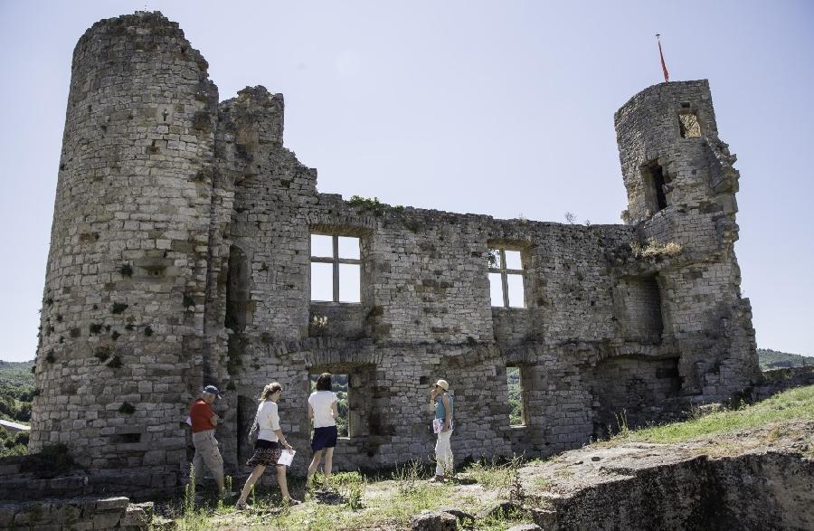 Visite libre du Château de Bertholène