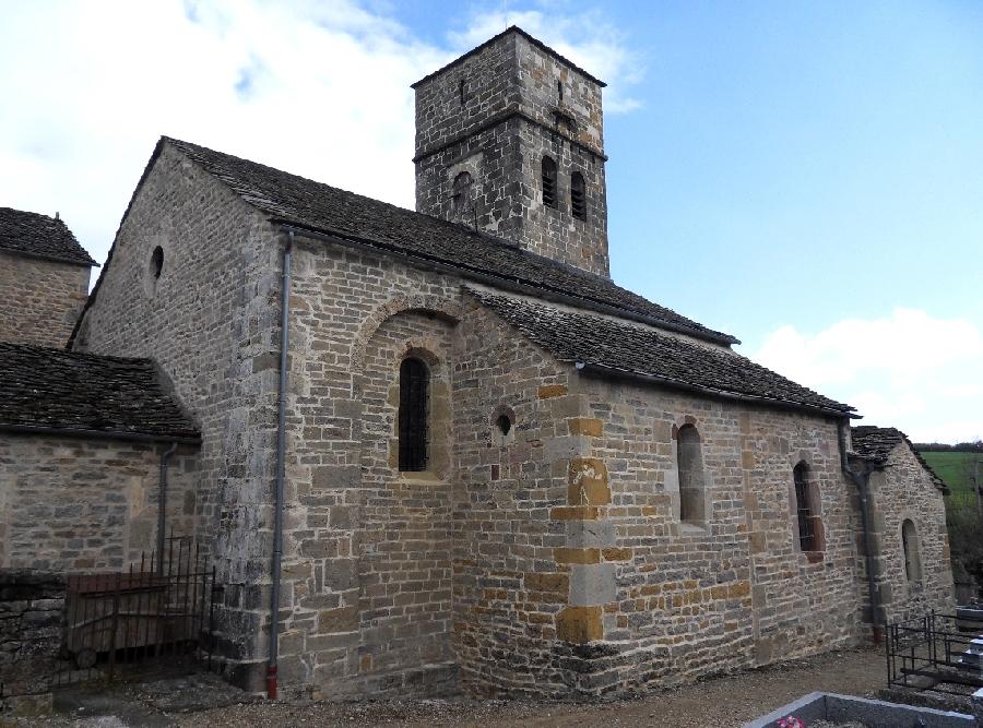 Visite guidée de l'église de Saint Dalmazy