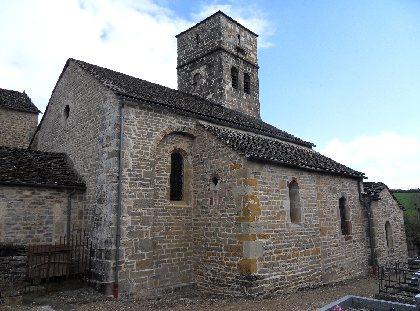 Visite guidée de l'église du hameau de Saint Dalmazy - Sévérac-le-Château
