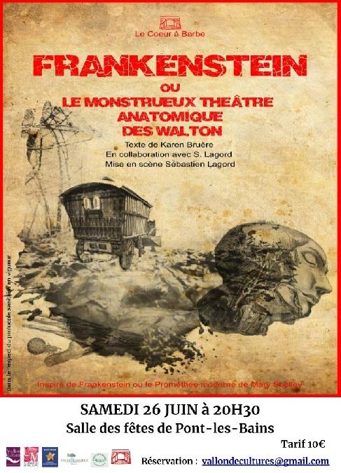 Théâtre - Frankenstein