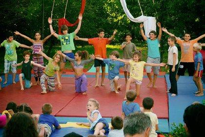 stage de cirque,