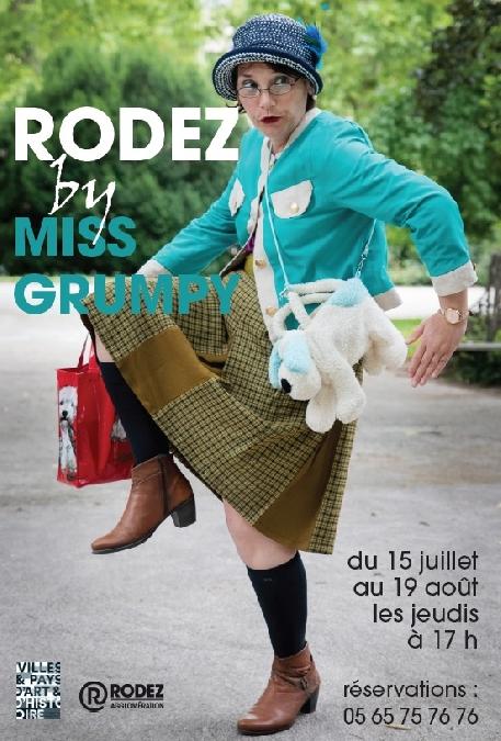 Visitez Rodez avec Miss Grumpy !