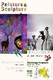 Exposition Sculptures métal et peintures