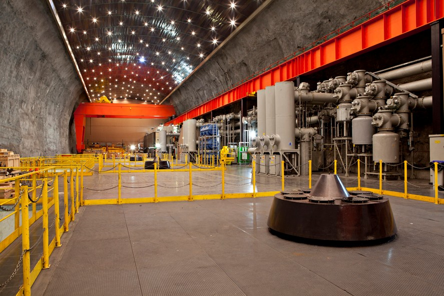 Usine hydroélectrique Montézic