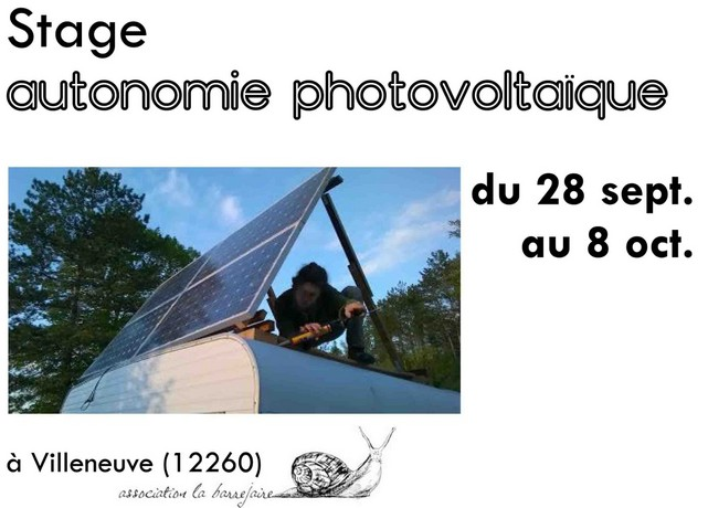Stage Autonomie Photovoltaique