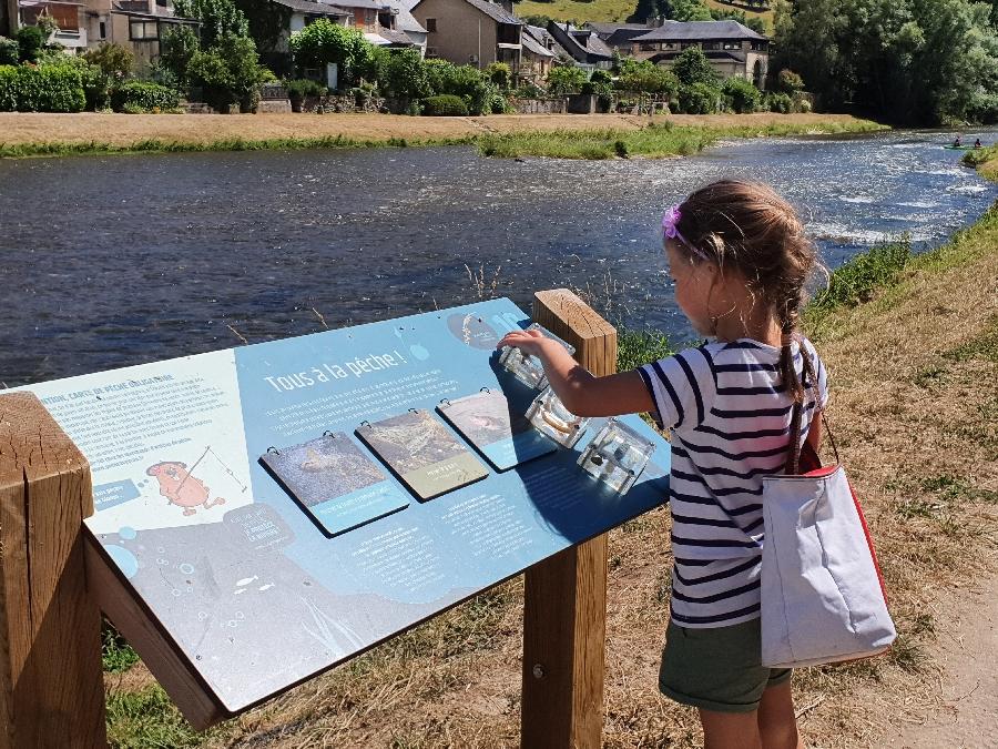 Parcours famille pêche - Itinéraire de découverte