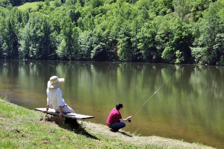 Le parcours de pêche des Pélies