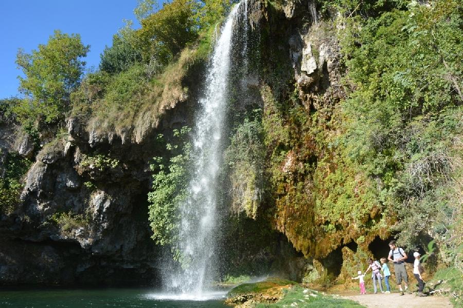 Cascade de Salles-la-Source