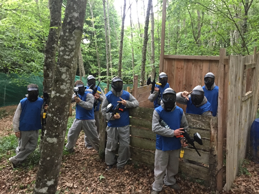 Grimpe et Cimes - Paintball